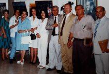 صورة سلمان البدعيش وفؤاد حمزة مع بعض قيادات الهلال الأحمر من دمشق والسويداء عام 1996