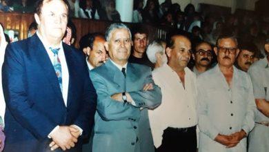 صورة فؤاد حمزة بين سلمان البدعيش وفهد بلان في السويداء 1995