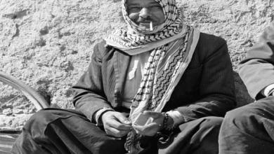 صورة مُزارع  من الغوطة الشرقية باللباس التقليدي عام 1982 (2)