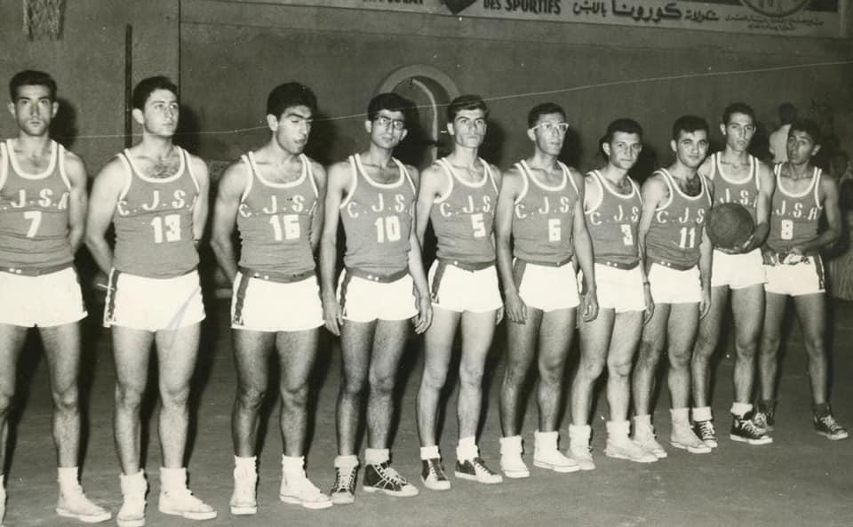 فريق نادي الشبيبة الكاثوليكي في حلب عام 1958