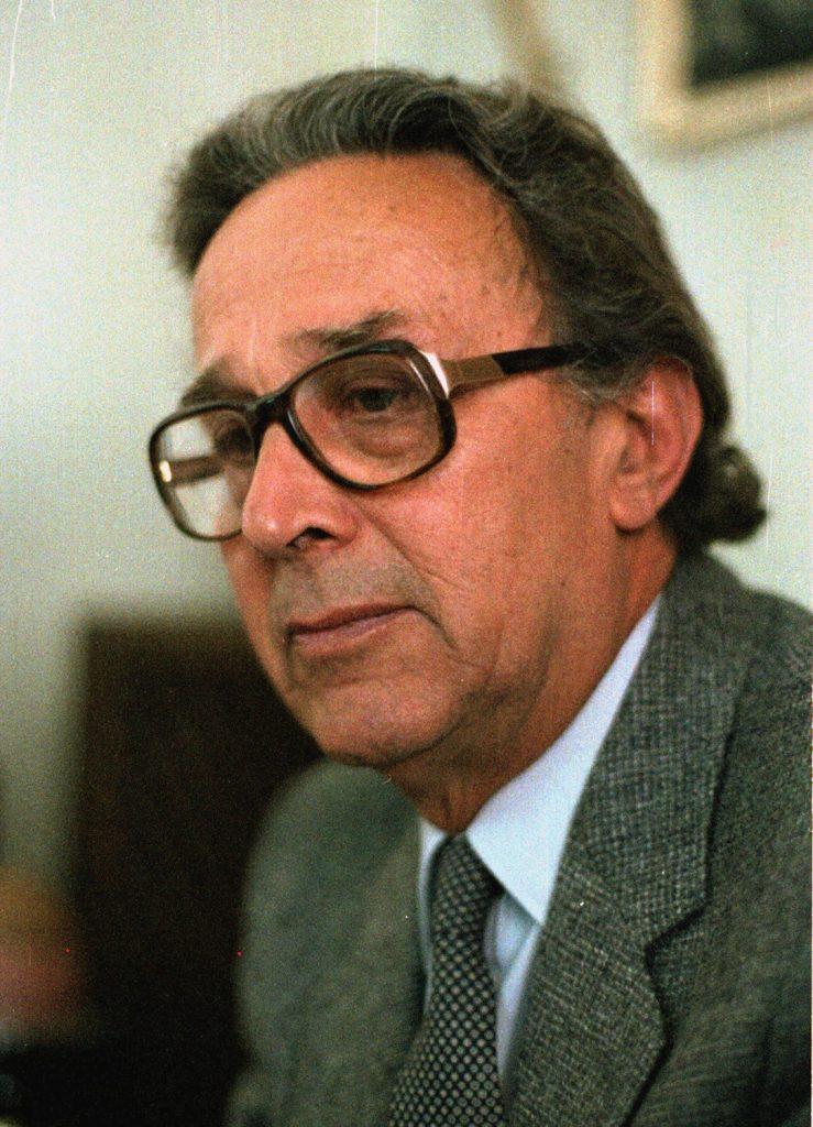 الفنان تيسير السعدي عام 1981