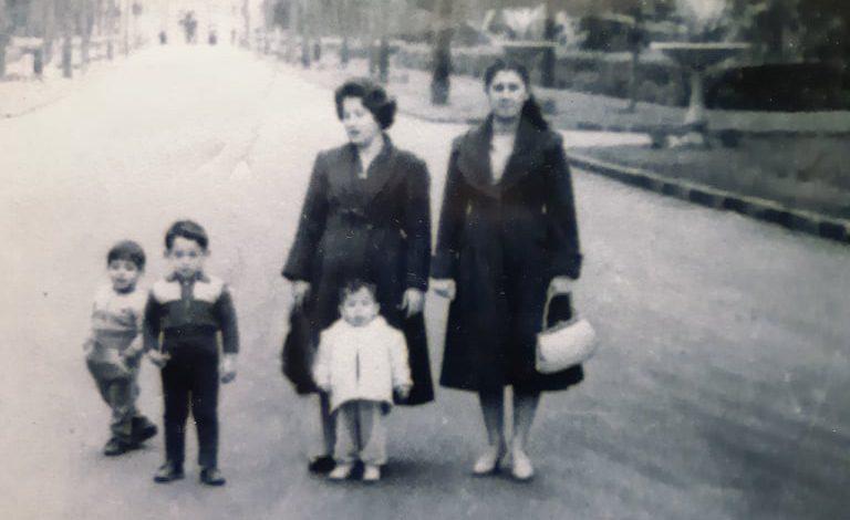 صورة أنيسة مخلوف في القاهرة عام 1960