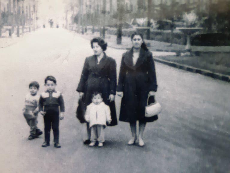 أنيسة مخلوف في القاهرة عام 1960