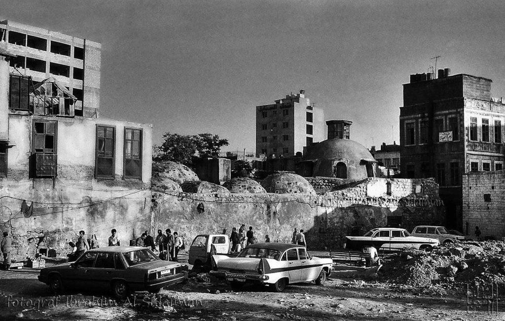 حمام القرماني في البحصة - دمشق صيف عام 1989