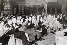 صورة قصر العظم 1974 – الحفل الذي أقيم على شرف الوفد الأميركي – شركة بوينغ (3/3)