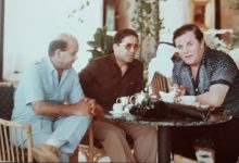 صورة فهد بلان ،فؤاد حمزة،سلمان البدعيش في أبو ظبي 1984