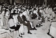 صورة قصر العظم 1974 – الحفل الذي أقيم على شرف الوفد الأميركي – شركة بوينغ (3/1)