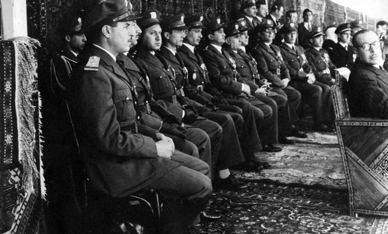 صورة ضباط من الجيش – احتفال عيد الجلاء 1954 (5)