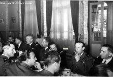 صورة اجتماع الوفد العسكري السوري مع ضباط فرنسيين في باريس 1955