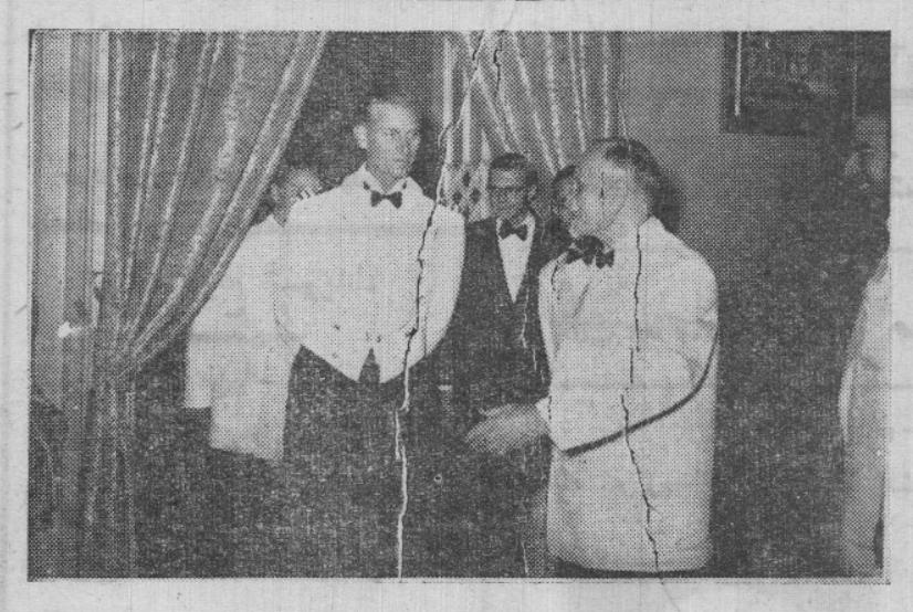 """زيارة الدوق فيليب قائد المدمرة البريطانية """"تشيكرز"""" إلى سورية 1950"""