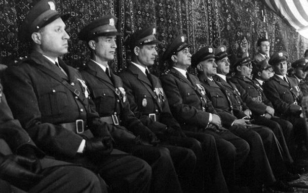 صورة ضباط من الجيش – احتفال عيد الجلاء 1954 (7)