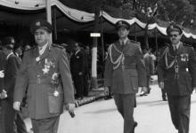 صورة اللواء توفيق نظام الدين رئيس الأركان – احتفال عيد الجلاء 1957 (2)