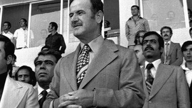 صورة حافظ الأسد في افتتاح ملعب العباسيين (6)