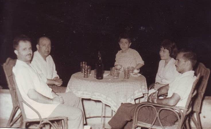 صورة يوسف الدبيسي وسلمان البدعيش في القاهرة 1960