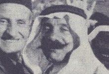 صورة عبد الرحمن الشهبندر مع سلطان الأطرش