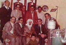 صورة عبد السلام العجيلي في زيارة  لـ سلطان الأطرش في سبعينات القرن العشرين (2)