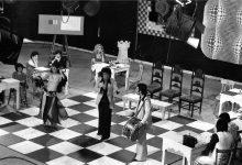 صورة موفق بهجت في برنامج أبيض وأسود – التلفزيون السورية 1979م