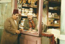صورة رفيق سبيعي وعدنان بركات في مسلسل أيام شامية عام 1992