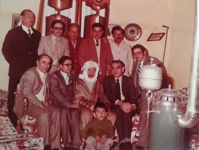 عبد السلام العجيلي في زيارة  لـ سلطان الأطرش في سبعينات القرن العشرين (2)