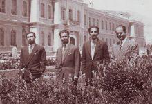 صورة من الرعيل الأول من طلاب السويداء في جامعة دمشق عام 1949