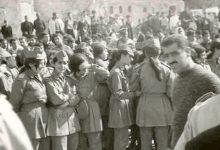 صورة حلب 1969- طالبات الفتوة في مسيرة استنكار ضرب العمل الفدائي في لبنان (3)