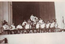 صورة فرقة نادي الفنون الجميلة الموسيقية في السويداء عام 1964