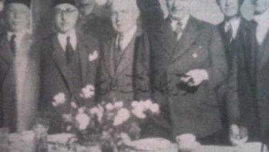 صورة زيارة نوري السعيد إلى سورية عام 1944