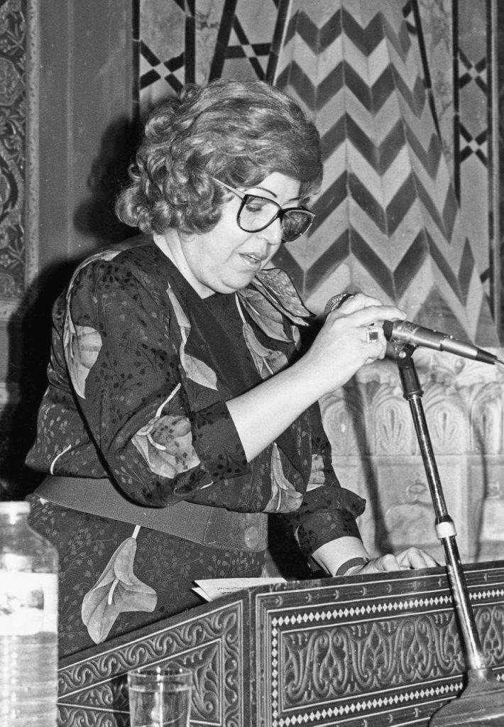 حفل تكريم الفنانين التشكيليين في دمشق عام 1989
