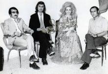 صورة الفنانة اللبنانية صباح في كواليس حفل دمشق في تشرين الأول عام 1972