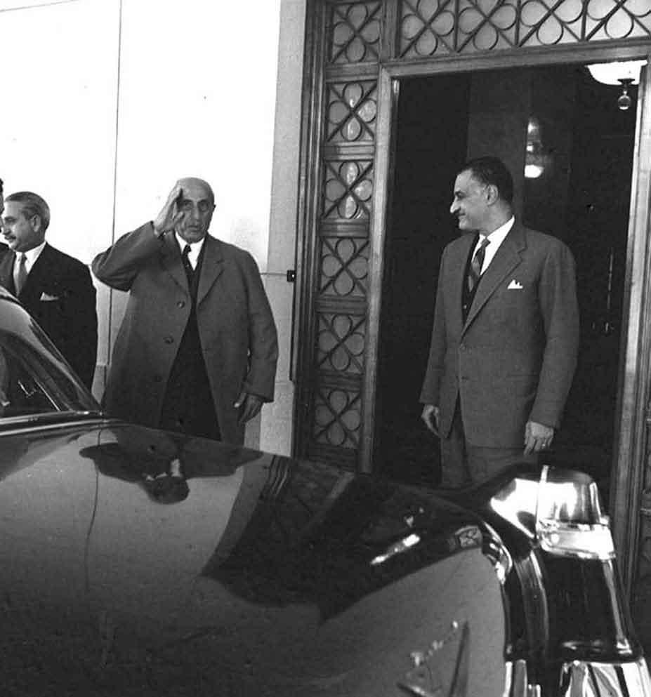 اجتماع شكري القوتلي مع جمال عبد الناصر 1961