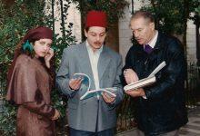 صورة الفنان سيف سبيعي في مسلسل دمشق يا بسمة الحزن 1992