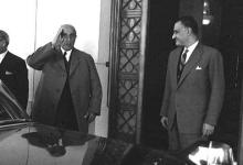 صورة اجتماع شكري القوتلي مع جمال عبد الناصر 1961 (5)