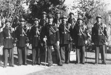 صورة عبدالسلام رفعت لاش رئيس الحرس الجمهوري وكتيبة الحرس في المهاجرين 1951