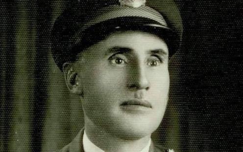 صورة المساعد الأول عبدالسلام رفعت لاش رئيس الحرس الجمهوري 1951