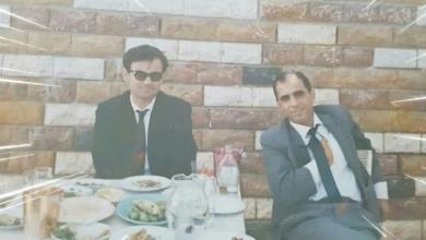 صورة مروان حبش وكامل حسين سفير سورية في باريس عام 1970