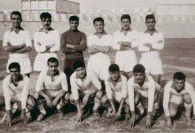 صورة فريق نادي دمشق الأهلي عام 1963