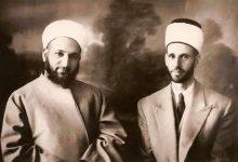 صورة الشيخان أحمد كفتارو ومحمد بشير الباني