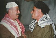 صورة أدهم الملا ومحمد العقاد في مسلسل أيام شامية عام 1992