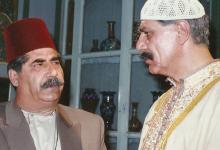 صورة خالد تاجا وعدنان بركات في مسلسل أيام شامية عام 1992