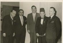 صورة صبحي العمري وبدر الدين الشلاح في خمسينيات القرن العشرين